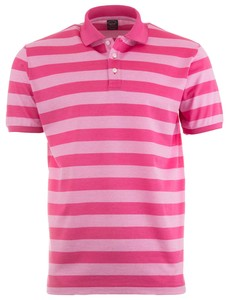 Paul & Shark Fancy Two-Tone Polo Roze