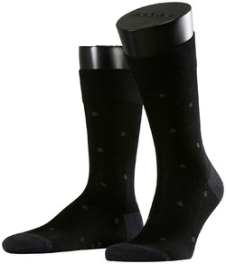 Falke Dotted Socks Near Black