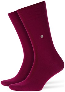Burlington Lord Socks Ruby