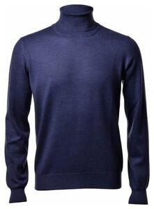 Gran Sasso Coltrui Extrafine Merino Fashion Trui Denim Blue