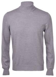 Gran Sasso Mock Merino Extrafine Pullover Grey