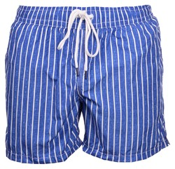 Gran Sasso Striped Swim Short Swim Short Blauw