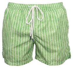 Gran Sasso Striped Swim Short Swim Short Groen