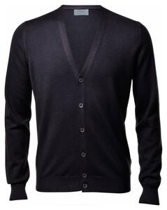 Gran Sasso Vintage Délavé Extrafine Merino Vest Vest Charcoal