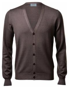 Gran Sasso Vintage Délavé Extrafine Merino Vest Vest Hazel