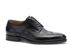 Greve Breda Brogue Shoes Black