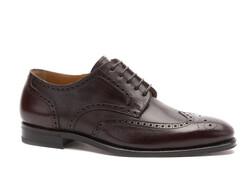 Greve Breda Brogue Shoes Etrusco Kaviar