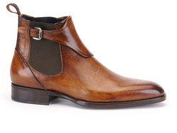 Greve Chelsea Brunello with Belt Shoes Gold Supreme