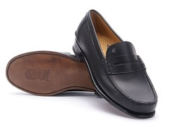Greve Mocassin Kansas Shoes Black