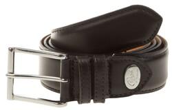 Greve Pecorino Derby Belt Black