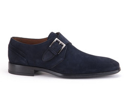 Greve Ribolla Velvet Shoes Blue Velvet