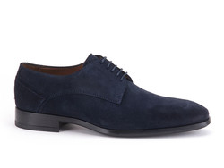 Greve Ribolla Velvet Shoes Blue Velvet