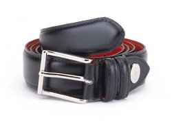 Greve Uni Color Belt Riem Nero Puro