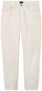 Gant Slim Jeans Crème