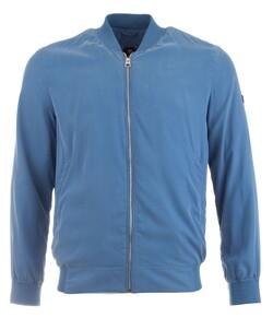 Pierre Cardin Tech Silk Blouson Midden Blauw