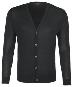 Seidensticker Button Vest Near Black