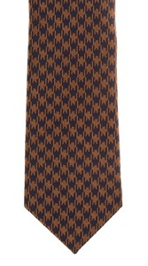 Hemley Bold Pied-de-Poule Tie Bronze