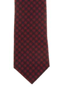 Hemley Bold Pied-de-Poule Tie Red