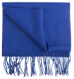 Hemley Soft Lambswool Sjaal Blauw