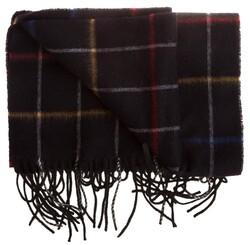 Hemley Tricolor Check Sjaal Zwart
