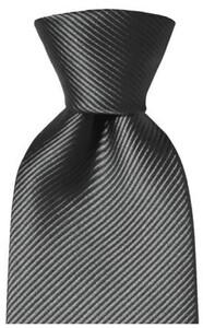 Hemley Uni Zijden Stropdas Tie Anthracite Grey