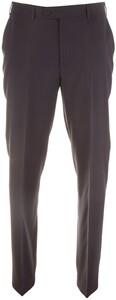 Hiltl Como Wool Flat-Front Pants Navy