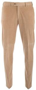 Hiltl Genua Corduroy Flat-Front Corduroy Trouser Light Beige