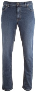 Hiltl Kirk Contemporary Fit Cento Denim Jeans Dark Denim Blue