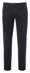 Hiltl Kirk Cotton Twill Broek Night Blue