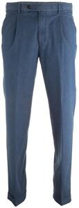 Hiltl Morello-U Light Denim Bandplooi-Omslag Jeans Jeans Bleached Blue