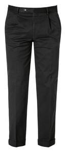 Hiltl Morello-U Signature Cotton Broek Zwart
