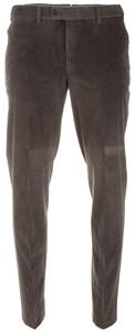 Hiltl Parma Genua Corduroy Flat-Front Corduroy Trouser Graphite Grey