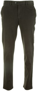 Hiltl Pero Flat Front Pants Anthracite Grey