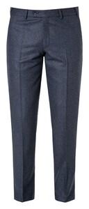 Hiltl Piacenza Wool Flannel Broek Donker Blauw