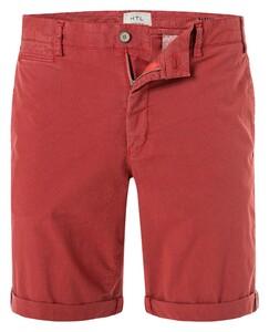 Hiltl Pisa-T Cotton Stretch Bermuda Dark Red