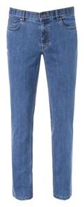 Hiltl Seth Denim Stretch 10 OZ Jeans Midden Blauw