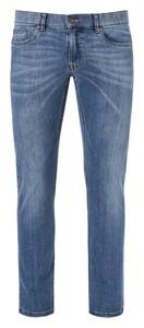 Hiltl Terrence Denim Stretch Jeans Midden Blauw