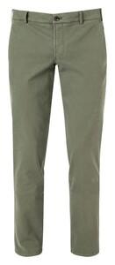 Hiltl Thiago Cotton Stretch Broek Groen