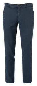 Hiltl Thiago Cotton Stretch Pants Dark Evening Blue
