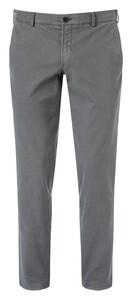 Hiltl Thiago Cotton Stretch Pants Dark Gray