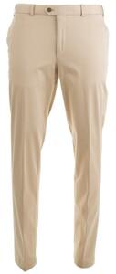 Hiltl Tourist Perfetto Cotton Flat-Front Pants Sand