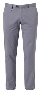 Hiltl Trevail Slim-Fit Sartorial Supima Pants Bluegrey