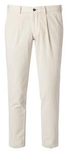 Hiltl Turin Cotton Cord Ribbroek Off White