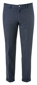 Hiltl Victor Cotton Stretch Pants Dark Evening Blue