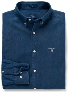 Gant The Indigo Slim Fit Donker Indigo