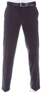 MENS Hairline Flat-Front Madrid Anthracite Grey