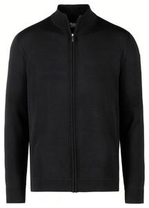 Maerz Uni Merino Vest Zwart