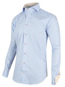Cavallaro Napoli Valbrono Shirt Licht Blauw