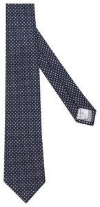 Jacques Britt Structured Tie Donker Groen Melange