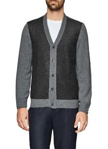 Maerz Button Vest Leaden Grey